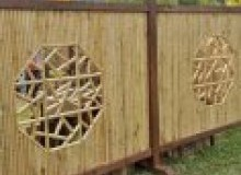 Kwikfynd Bamboo fencing airly