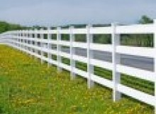 Kwikfynd Pvc fencing airly